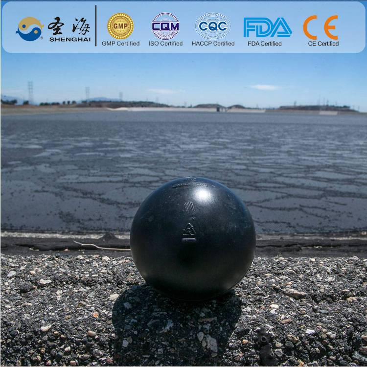 China factory supply 100mm hollow plastic balls for reducing evaporation