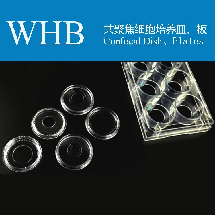 Sterile Glass Bottom Cell Culture Dish / Plate