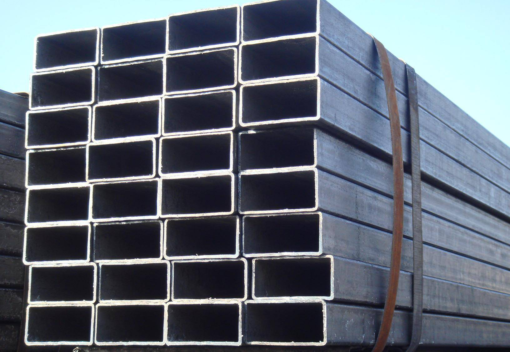 Black Carbon Rectangular Steel Pipe Tube