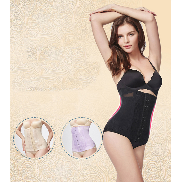 Factory direct price 100% Latex Slimming Body Shaper Latex Women Waist Trainer/trimmer