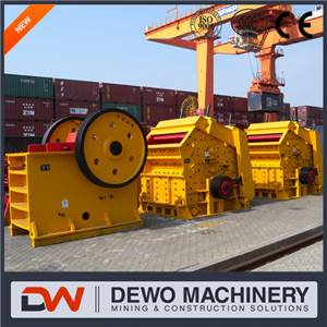 China most popular big capacity Impact/ Jaw Stone crusher for gold mining