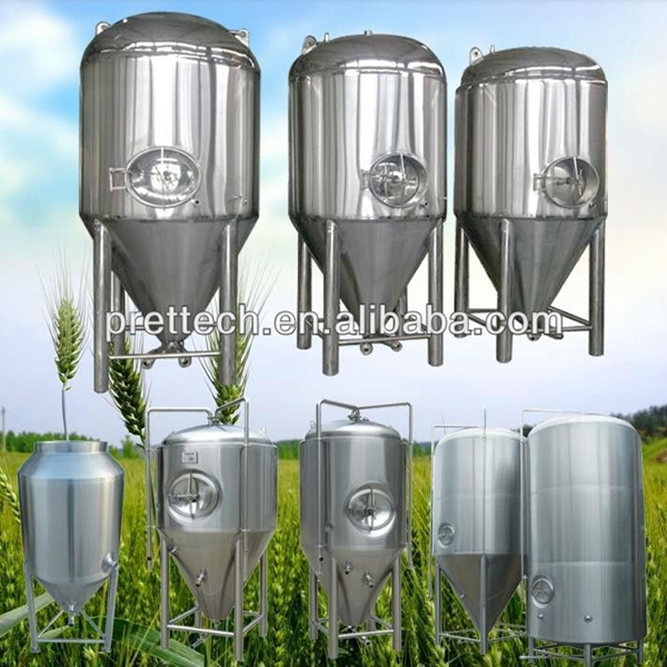 Double-wall insulation tank for beer brewing tank