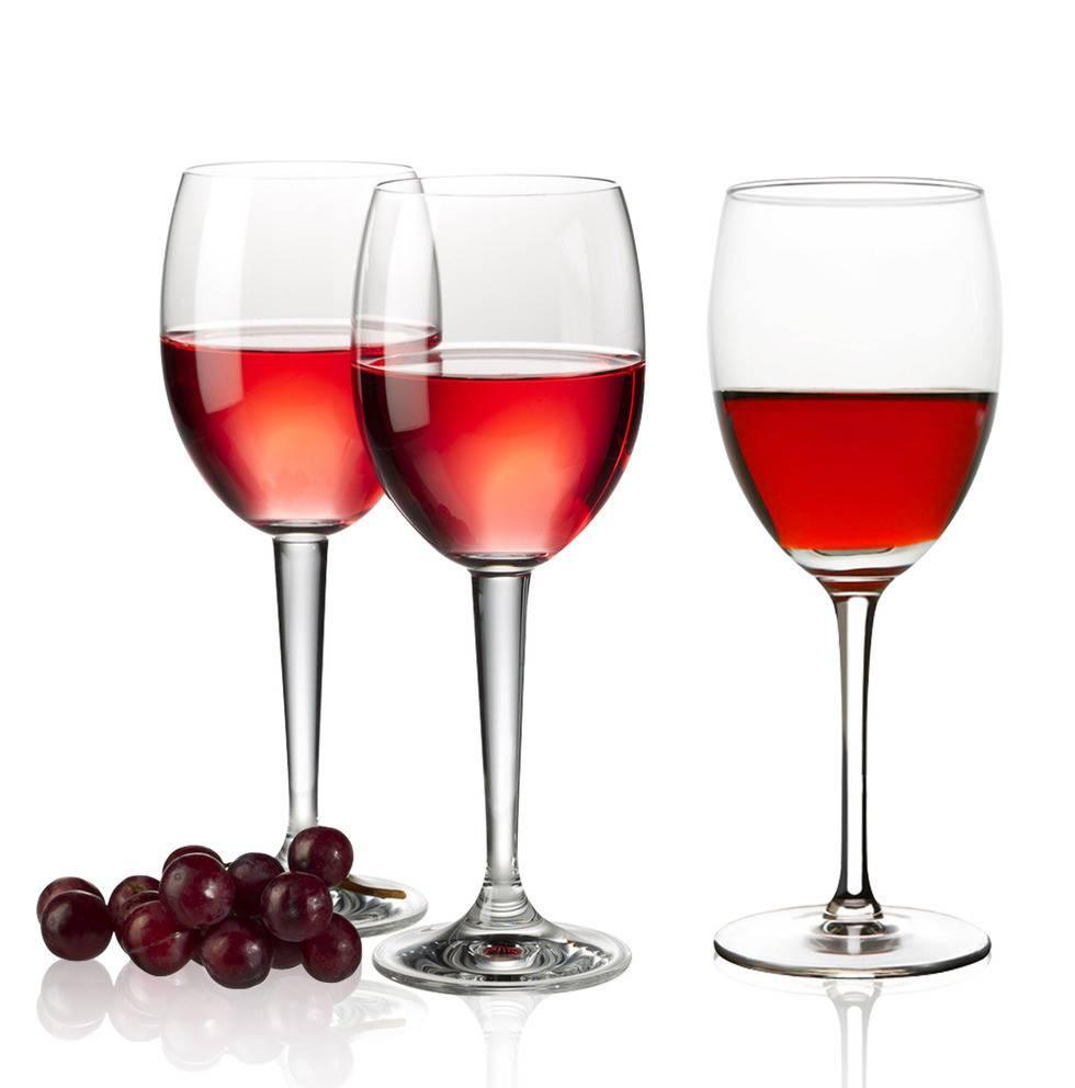 Elegant hand blown nice quality wine glasses 70ml~580ml