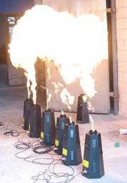 Normal flame machine (DMX)