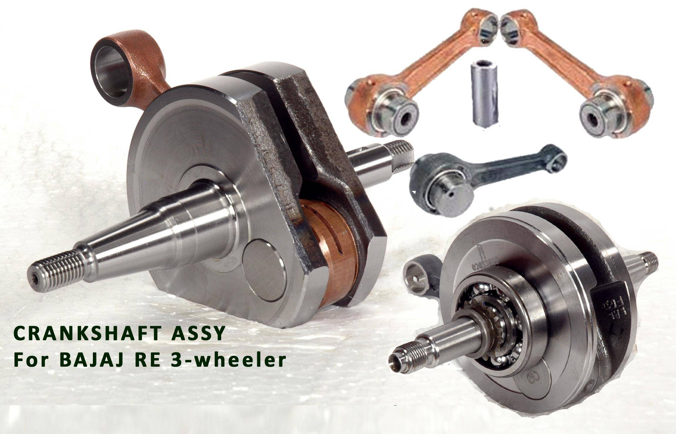 Three wheeler Crankshaft Assembly