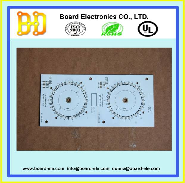 single layer printed circuit board for led
