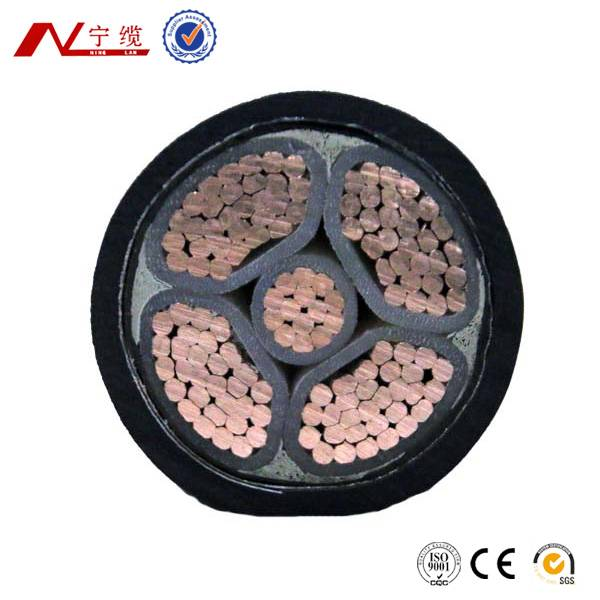 XLPE Insulated 4*50+25mm2 Power Cable up to 1kV