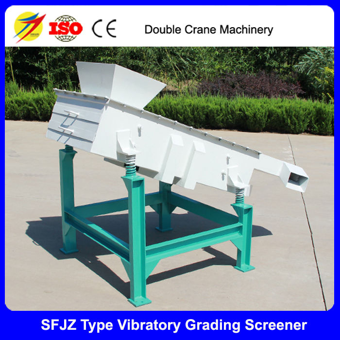 Chicken feed vibrating screener equipment