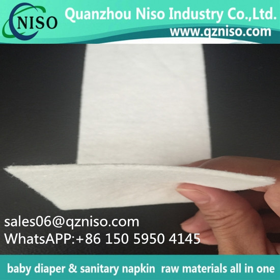 Expanded Absorbent Paper for Sanitary Napkin and diaper
