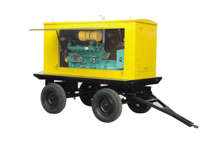 150kw Trailer/Mobile Diesel Generator Powered by Cummins (ZB-150GF)  150kw Trailer/Mobile Diesel Gen