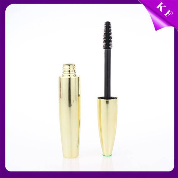 Shantou Kaifeng Gold Printing Waterproof Plastic empty mascara tube with applicator CM-2238