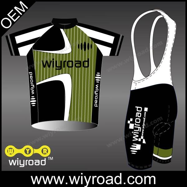 Accept sample order used cycling jersey wool/bike team clothes design/bicycle accessories china