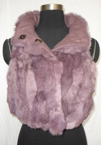 rex rabbit fur vest/coat/jacket/tops