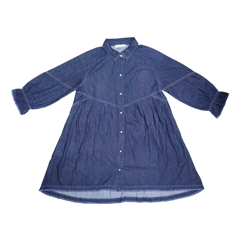 Ladies Denim Long Dress