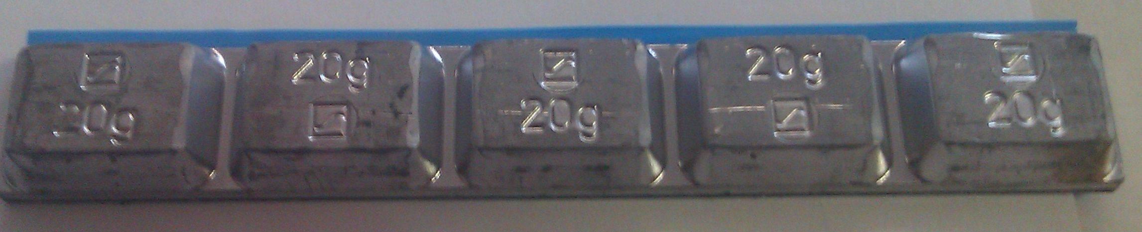 PB  stickwheel  weights