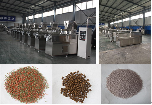Float fish feed extrusion machine