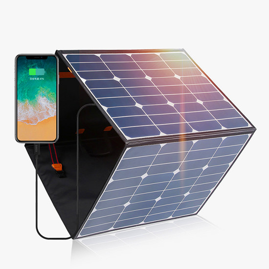 150W - 200W foldable solar panel charger price with controller