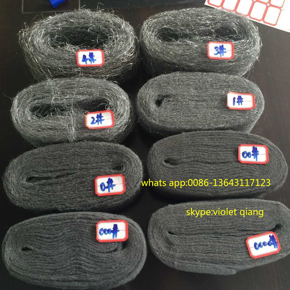 factory steel wool price for cleaning