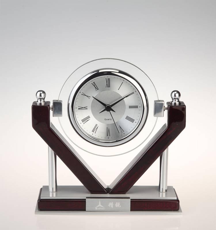 Conda brass mantel clock,brass table clock