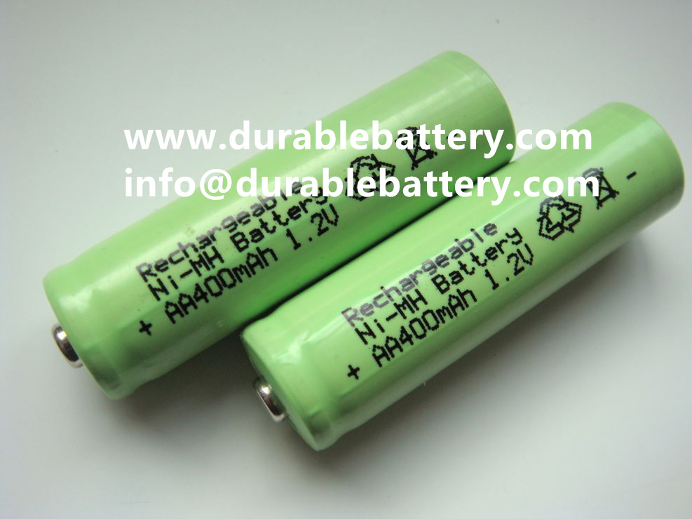 ni-mh 1.2v AA 400mah Nimh Rechargeable battery cell