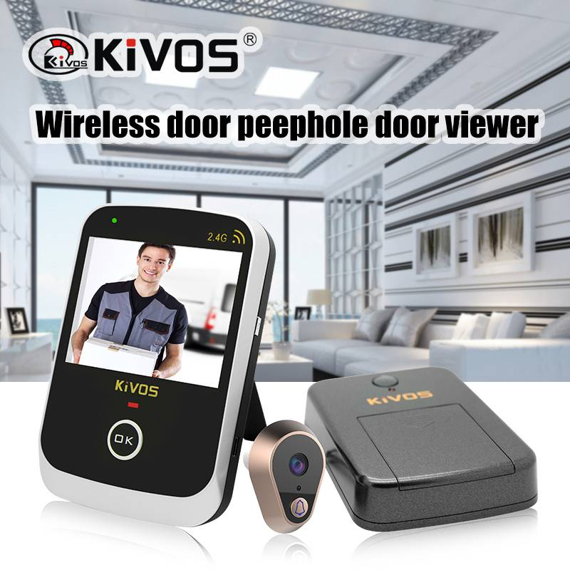 hot selling video cat eye KDB307A Wireless video cat eye