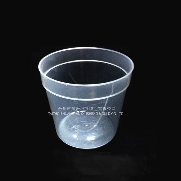 PP transparent measuring glass plastic mould