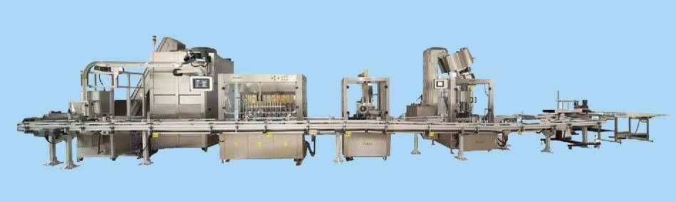 Fully automatic packaging line
