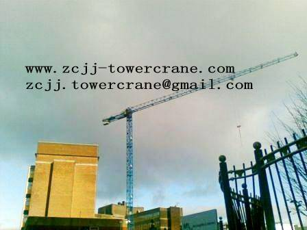 topless tower crane TCT5013(8t)