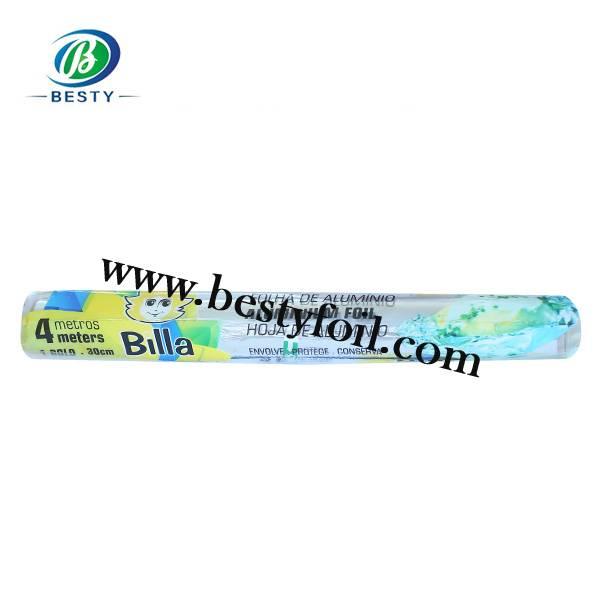 Household aluminium foil roll