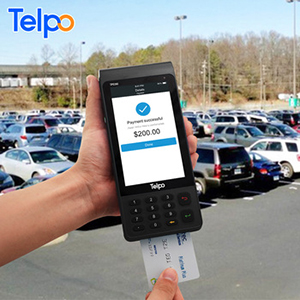 Telpo TPS390 Rugged NFC Reader card Card Skimmer mobile payment POS terminal device