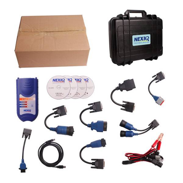 2013 NEXIQ 125032 USB Link + Software Diesel Truck Diagnose Interface and Software with All Installe
