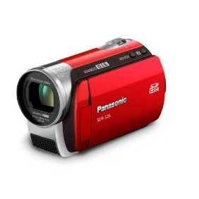 Panasonic SDR-S26 SD Camcorder (Red)