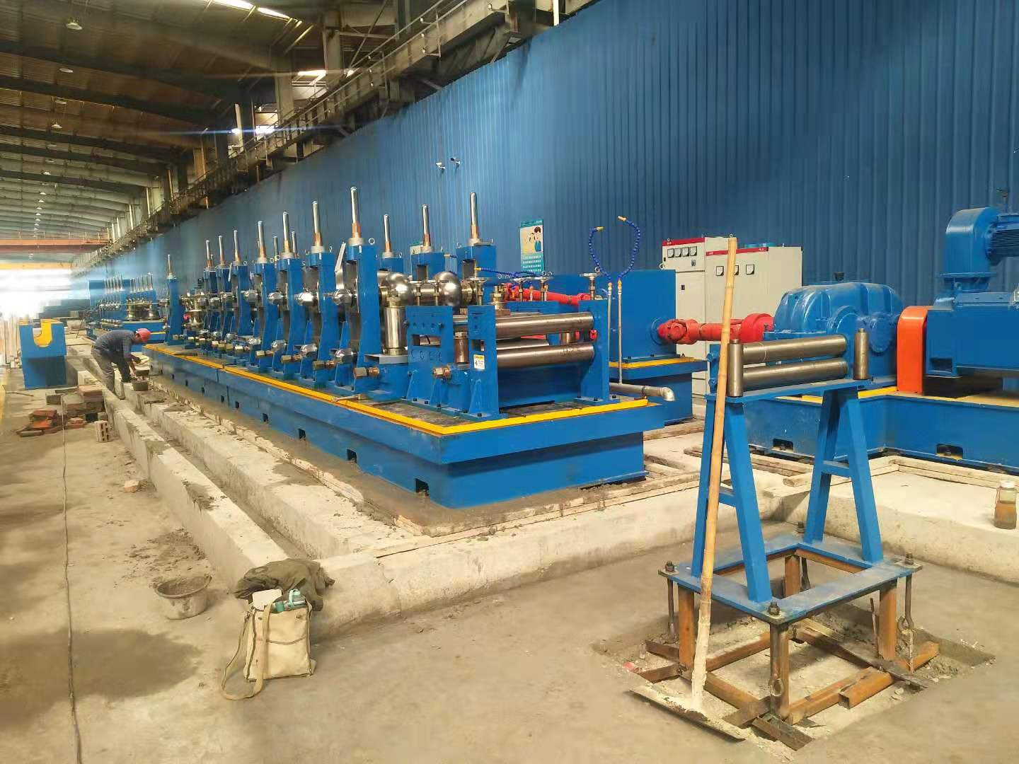 SP45 Tube Mill Manufacturer Tube Mill Machine Price