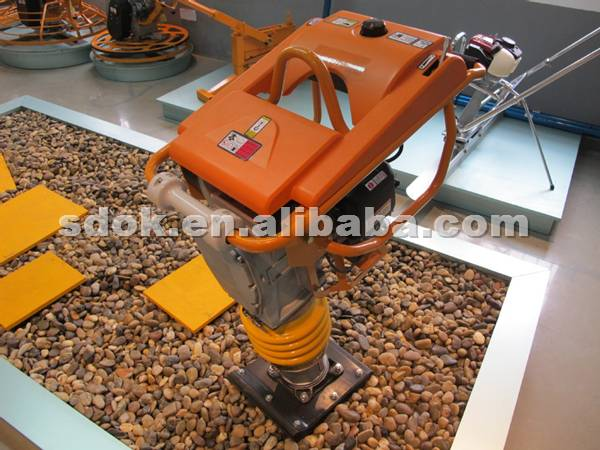 Brand new hcd70/80/90 tamping rammer with great price,metal bellow vibration tamping rammer compacto