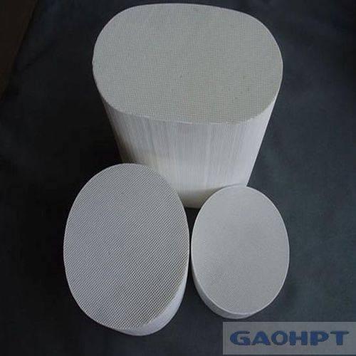 round honeycomb ceramic industrial infrared alumina ceramics