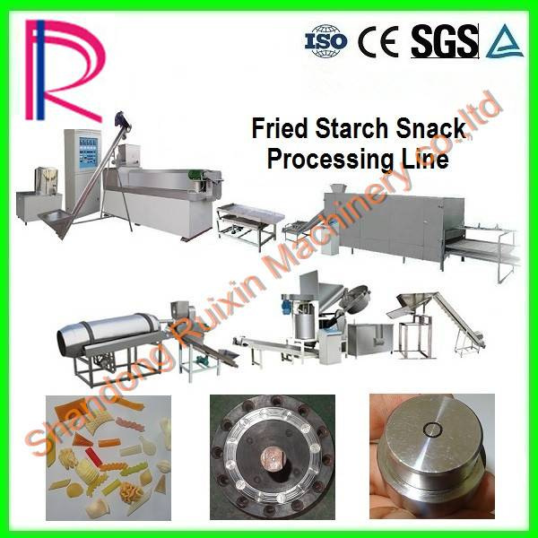 Fried Starch Snack Processing Line