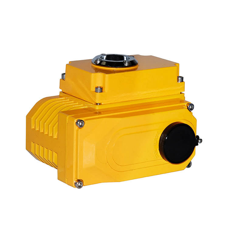 On/off Electric Actuator DC24V AC220V for Quarter Turn Valve