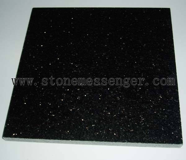 Hot Sale Granite Tile-black Galaxy, Star Galaxy