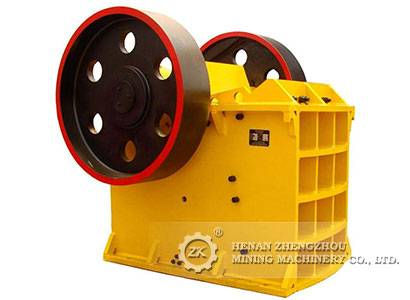 PE, PEX series jaw crusher