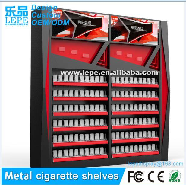 lepe cigarette display metal rack
