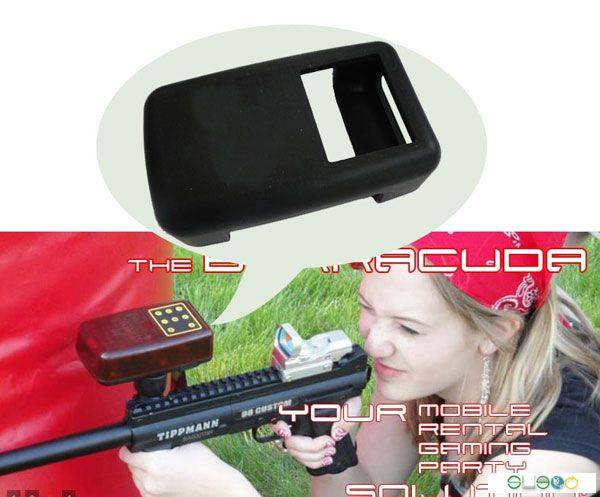 Paintball Laser Tag Game Gun Silicone Case Cover for Control Units