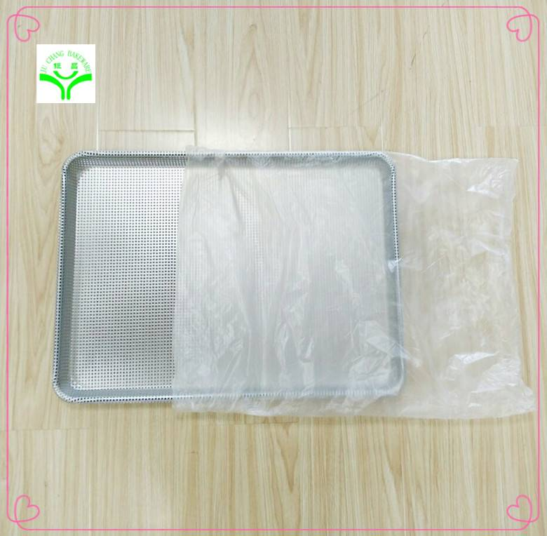 wholesale high quality square shape aluminum biscuit baking pans