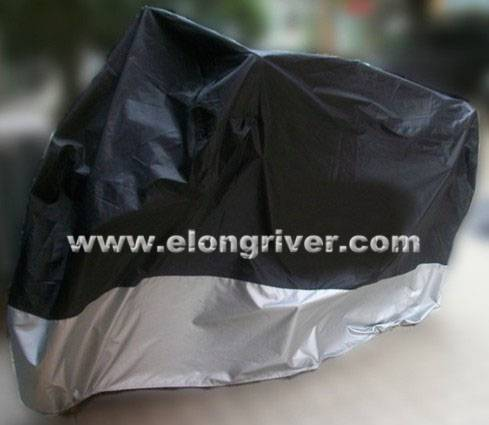 Two Color Tones Polyester Motorcycle Cover / Motorbike Cover / Scooter Cover