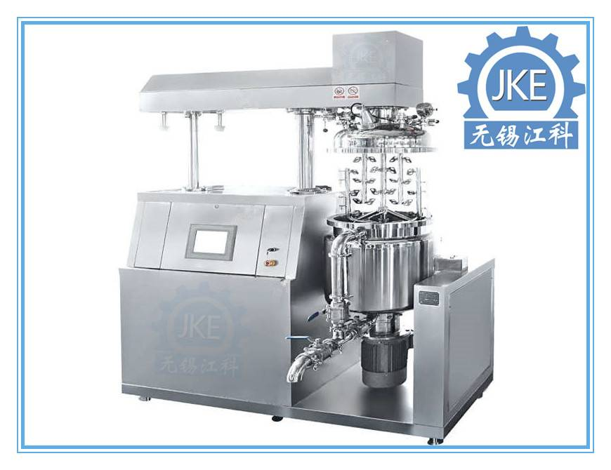 VEM-1300Liter Automatic Vacuum Homogenizing Emulsifier/Cake Gel Emulsifier Making Machine