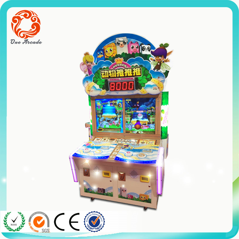 New Stylish coin operated redemption tickets lottery game machine