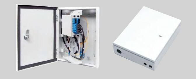 HTTH fiber optic splitter distribution box