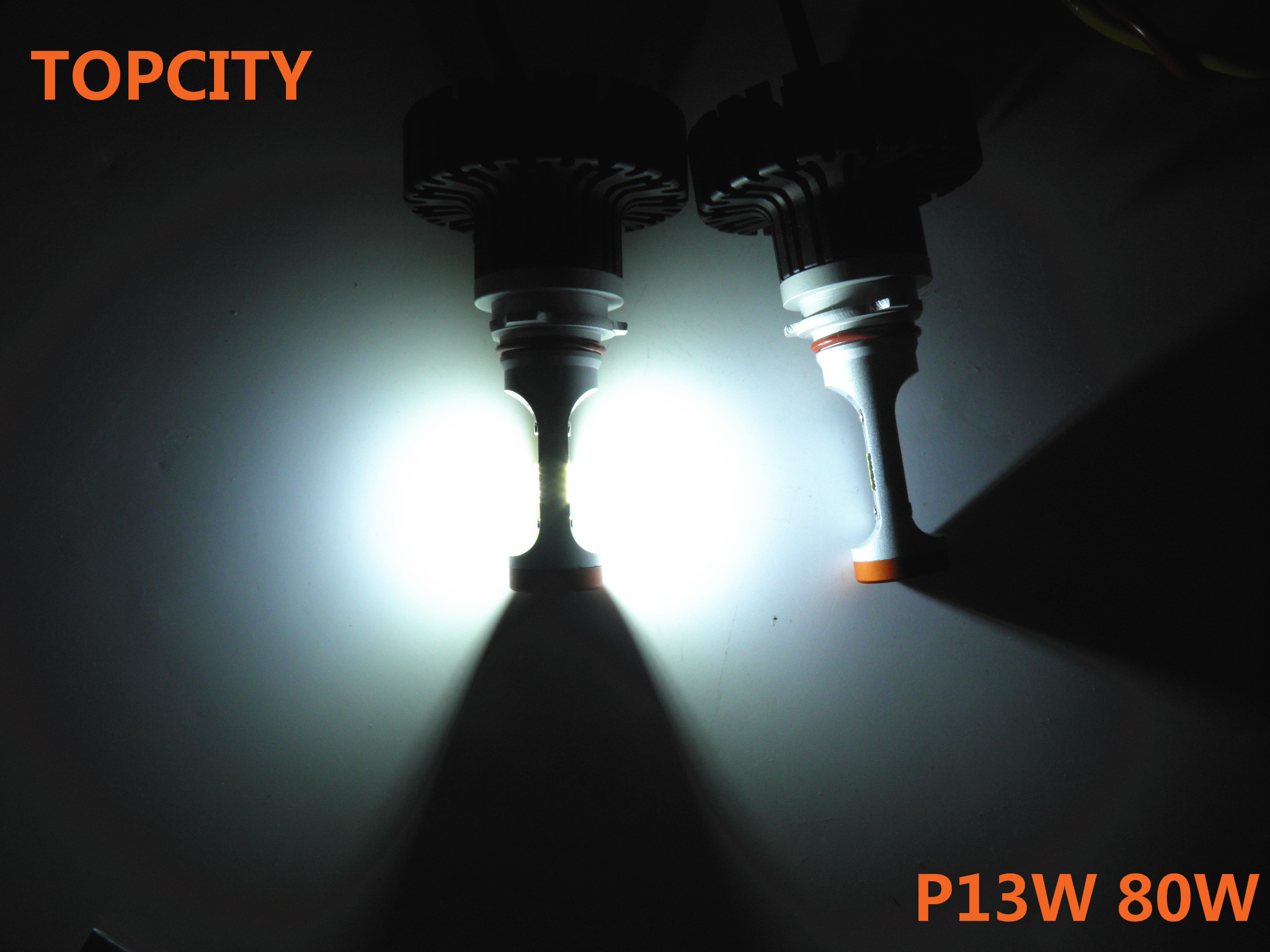 P13w led bulbs super bright headlight headlamp lighting accessory