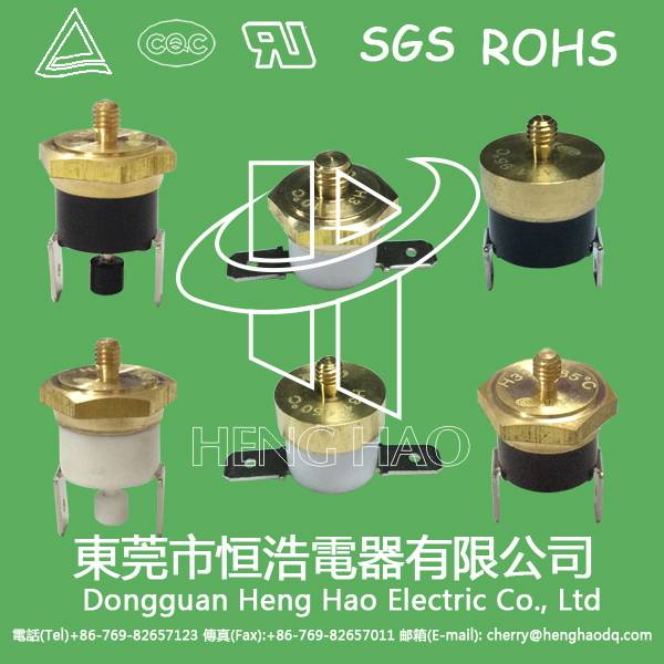 M6 copper head temperature sensor,M4 temperature limited switch