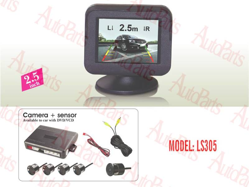 parking sensor with LCD display  AND CAMERA