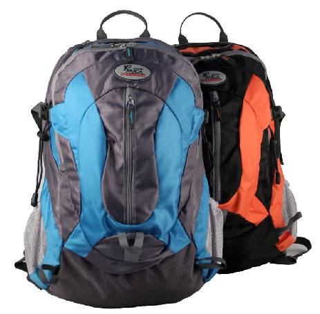 Fashion hiking backpack with rain cover